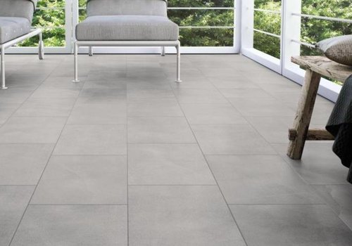 Supergres vloertegel ALL OVER Grey 60x60 cm - Naturale
