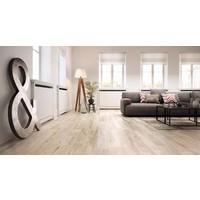 vloertegel REMAKE White 29,7x120 cm rett.
