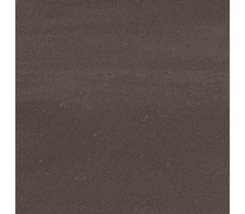 vloertegel SOLIDS Earth Brown 60x60 cm - vlak