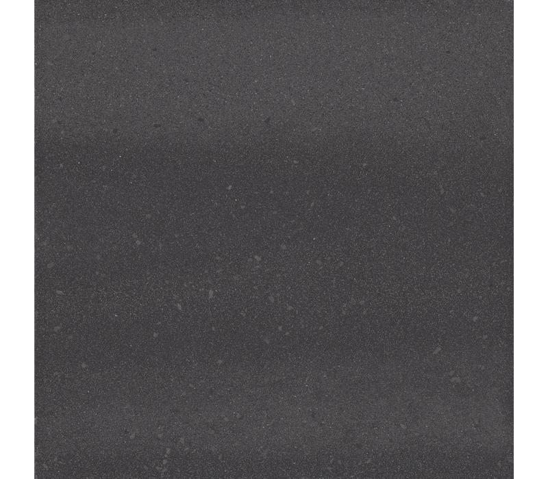 vloertegel SOLIDS Graphite Black 90x90 cm - vlak