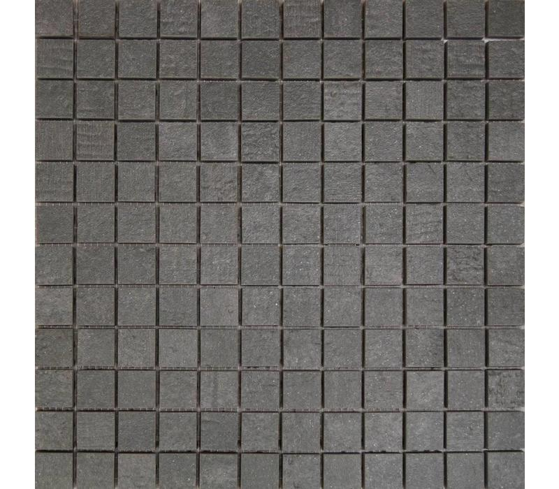 Mozaïek STRUCTURE Antracite 30x30 cm