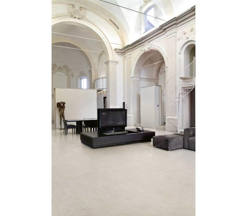 vloertegel PIETRA DEL NORD Bianco 60x60 cm - Antique matte