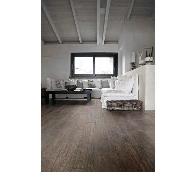 vloertegel SELECTION OAK Black 15x90 cm - Naturale