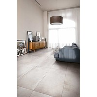 vloertegel LA ROCHE Blanc 80x80 cm - Antique matte