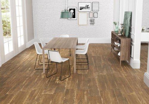 Keraben vloertegel VILLAGE Oak 24,8x100 cm
