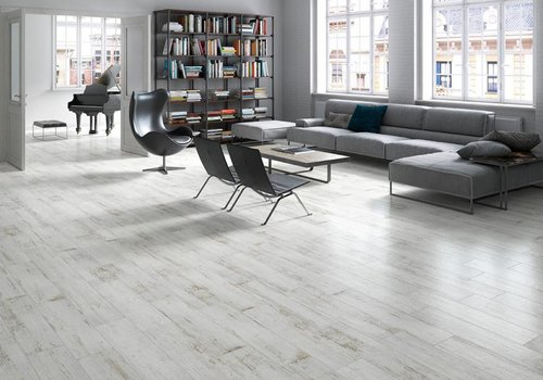 Keraben vloertegel VILLAGE White 24,8x100 cm