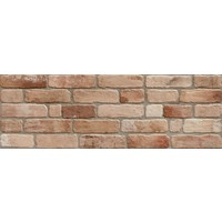wandtegel WALL BRICK Old Cotto 30x90 cm
