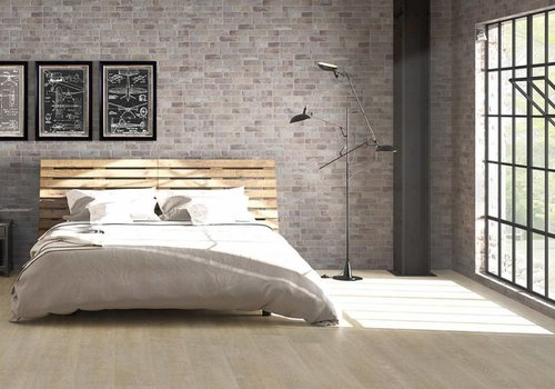 Keraben wandtegel WALL BRICK Old Grey 30x90 cm