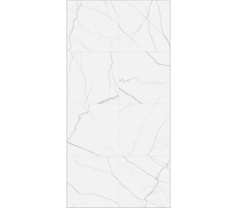 vloertegel MATE Marmo Bianco 60x60 cm