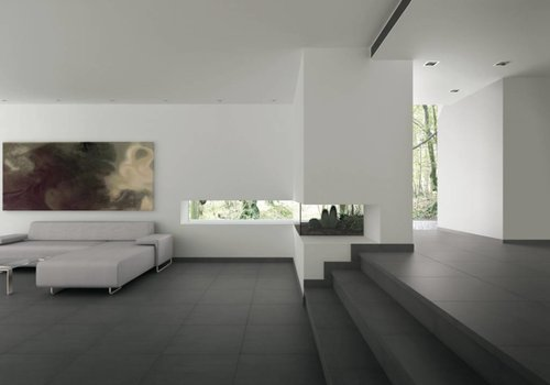 Grespania vloertegel ATACAMA Negro 60x60 cm rett.
