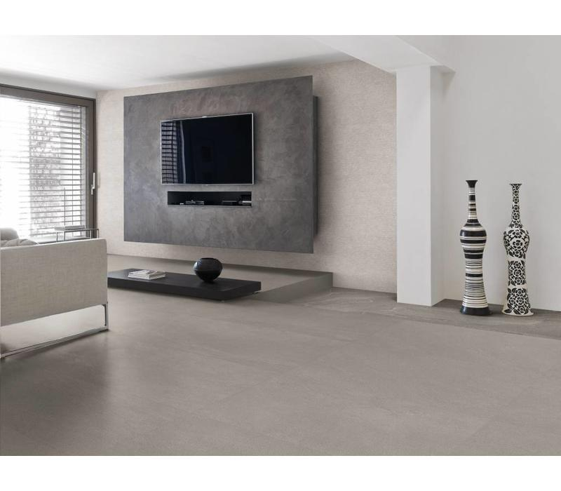 vloertegel STONE TALK Minimal Grey 60x120 cm rett. - Naturale