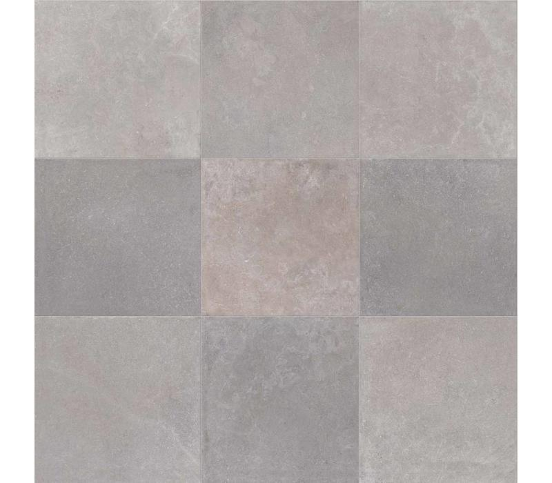 vloertegel NO_W Gray 60x60 cm