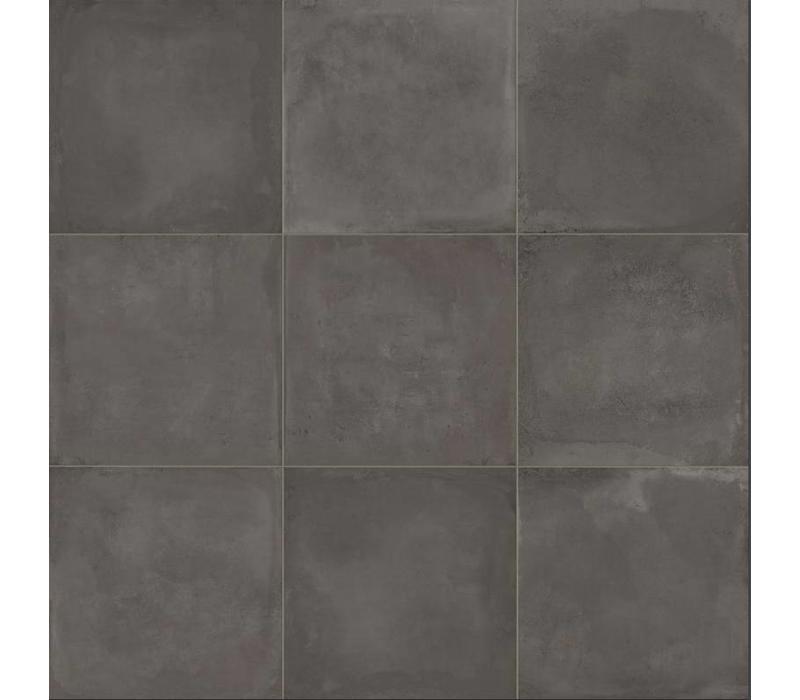 vloertegel ORIGINI Black 90x90 cm