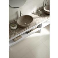 vloertegel BLOCK White 60x60 cm rett.