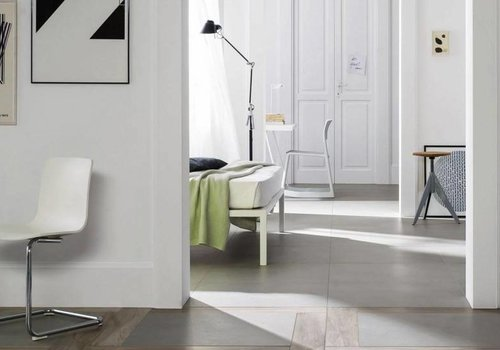 Marazzi vloertegel BLOCK Silver 60x60 cm rett.