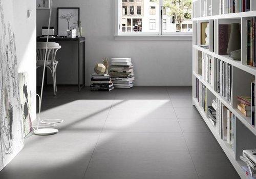 Marazzi vloertegel BLOCK Black 60x60 cm rett.