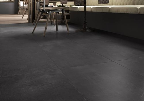 Imola vloertegel CREACON 90N Black 90x90 cm