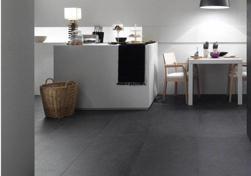 Imola vloertegel CONPROJ 60N Black 60x60 cm