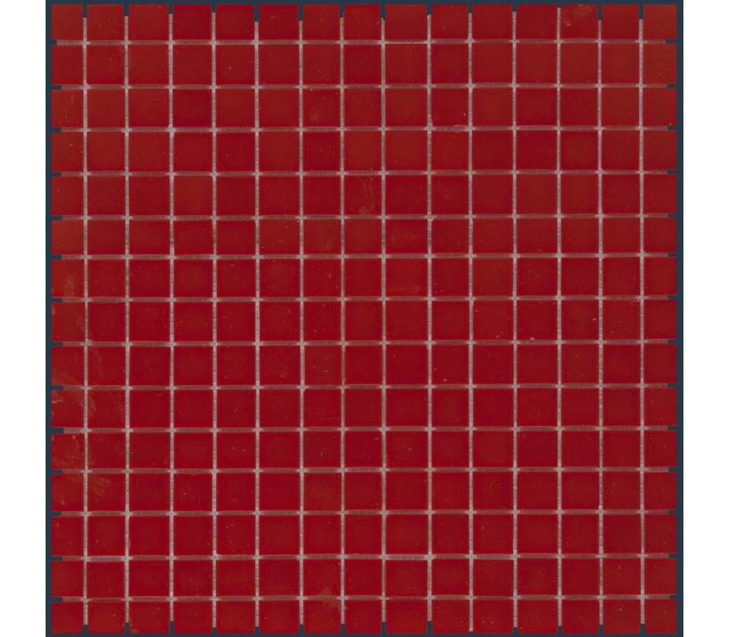 mozaïek AMSTERDAM Silk Crimson Red