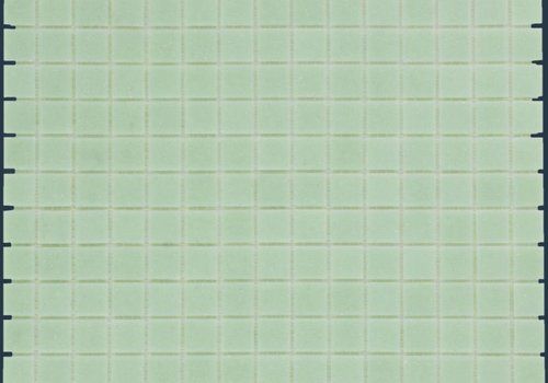 The Mosaic Factory mozaïek AMSTERDAM Basic Ultra Light Green
