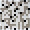 The Mosaic Factory mozaïek AMSTERDAM Mix White Grey Black
