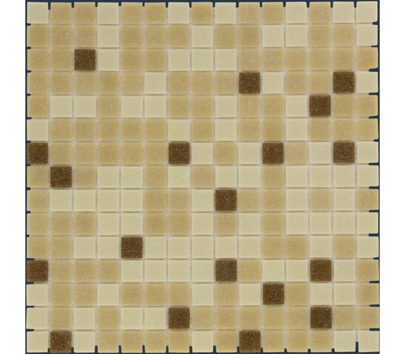 mozaïek AMSTERDAM Mix Brown