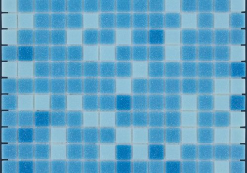 The Mosaic Factory mozaïek AMSTERDAM Mix Blue