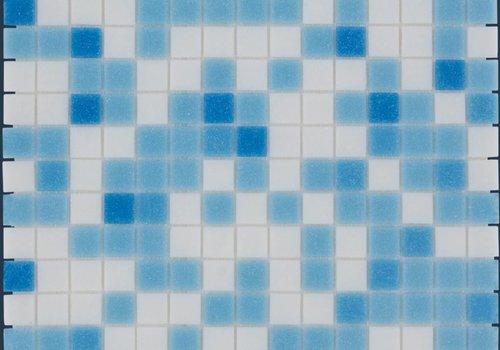 The Mosaic Factory mozaïek AMSTERDAM Mix Light Blue