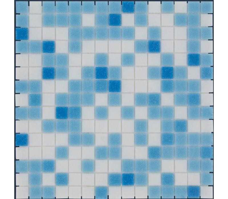 mozaïek AMSTERDAM Mix Light Blue