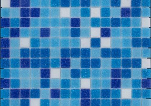 The Mosaic Factory mozaïek AMSTERDAM Mix Dark Blue