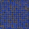 The Mosaic Factory mozaïek AMSTERDAM Gold Medium Blue