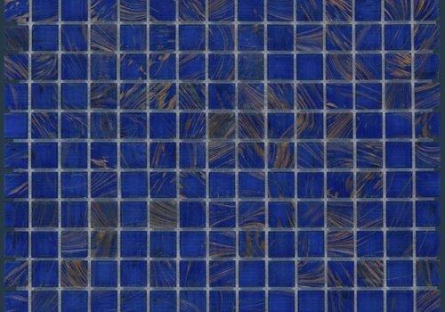 The Mosaic Factory mozaïek AMSTERDAM Gold Ocean Blue