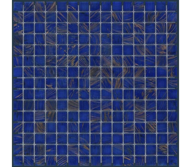 mozaïek AMSTERDAM Gold Ocean Blue