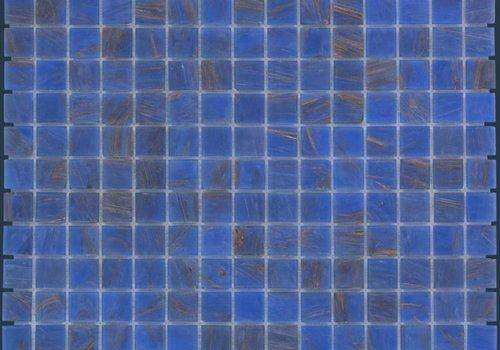 The Mosaic Factory mozaïek AMSTERDAM Gold Blue