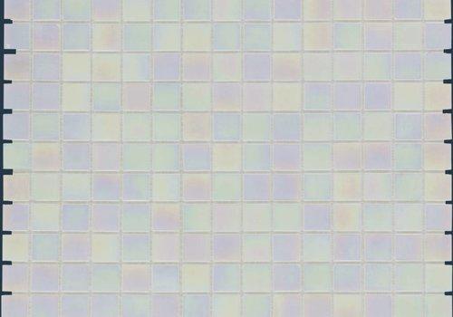 The Mosaic Factory mozaïek AMSTERDAM Pearl Off White