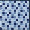 The Mosaic Factory mozaïek MONTREAL Blue Mix
