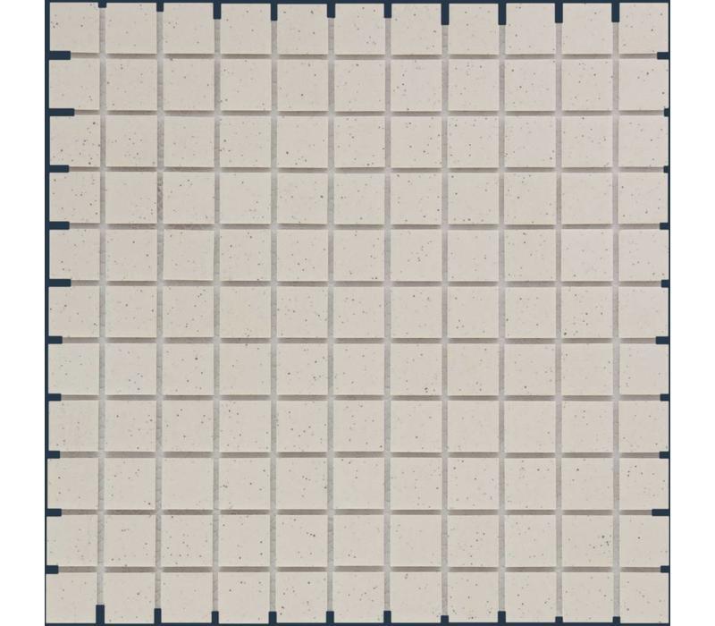 mozaïek LONDON White Speckle 25x25