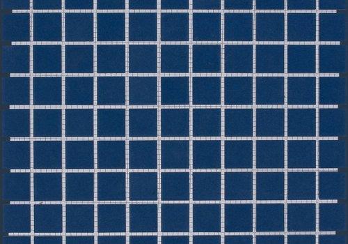 The Mosaic Factory mozaïek LONDON Dark Blue 25x25