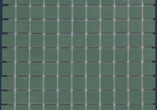 The Mosaic Factory mozaïek LONDON Green 25x25
