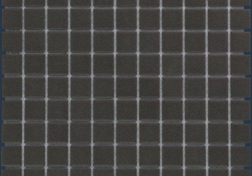 The Mosaic Factory mozaïek LONDON Black 25x25