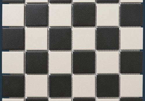 The Mosaic Factory mozaïek LONDON Chessboard 48x48