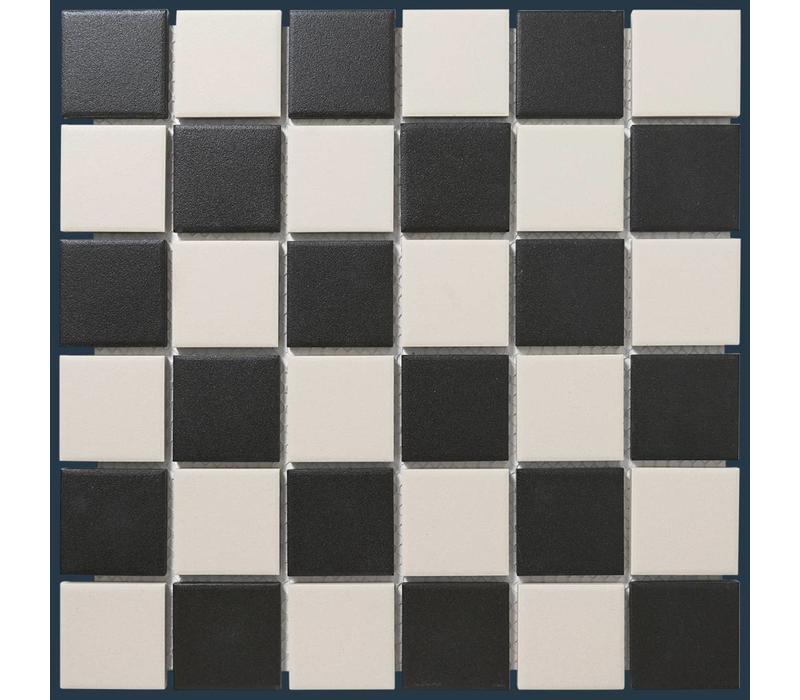 mozaïek LONDON Chessboard 48x48