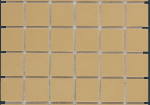 The Mosaic Factory mozaïek LONDON Yellow 48x48