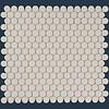 The Mosaic Factory mozaïek LONDON Pennyround White
