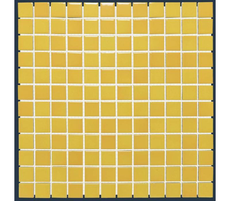 mozaïek BARCELONA Glossy Flamed Yellow 23x23