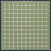 The Mosaic Factory mozaïek BARCELONA Glossy Olive Green 23x23
