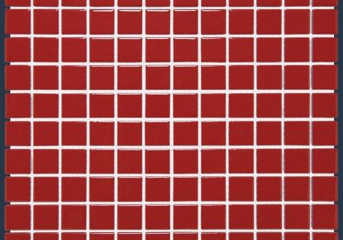 The Mosaic Factory mozaïek BARCELONA Glossy Red 23x23