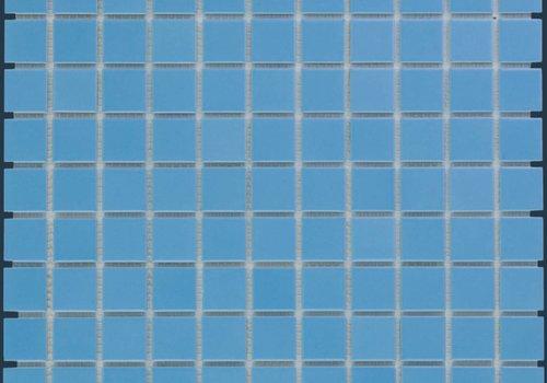 The Mosaic Factory mozaïek BARCELONA Glossy Blue 23x23