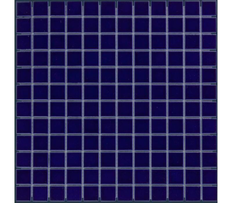 mozaïek BARCELONA Glossy Dark Blue 23x23