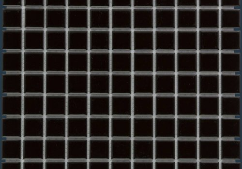 The Mosaic Factory mozaïek BARCELONA Glossy Black 23x23